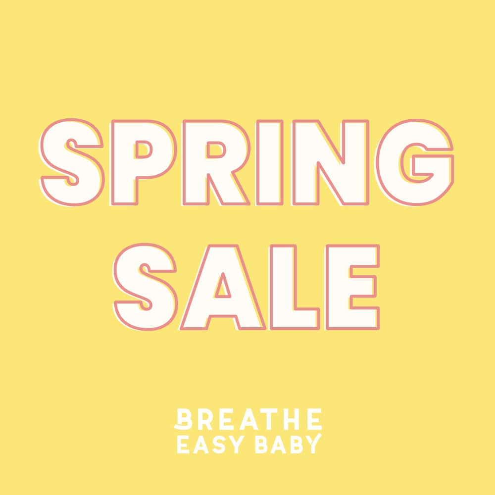Spring Sale! 15% off a breathable crib mattress!